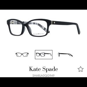 Kate Spade Sharla GlassesFrames w/ Cloth and Case